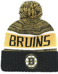 e78d3085ef896a BOSTON BRUINS Ice Hockey Knit Beanies Embroidery Adjustable Hat Embroidered Snapback  Caps Orange White Black Stitched Hat One Size