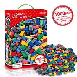 toy building bricks brands Australia - 1000 Pieces Model Building Kits Classic Blocks DIY Toys Creative Bricks Bulk Figures Educational For Children Kids Compatible All Brands