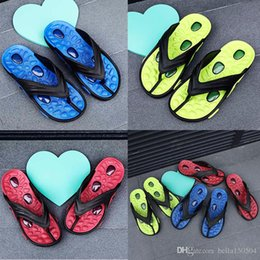 $enCountryForm.capitalKeyWord Australia - Designer sandals Casual men slippers Summer Outdoor Leisure beach Slippers trend lightweight Air cushion massage flip flops top quality