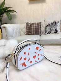 white cross decoration NZ - Designer Shoulder Bag Women Luxury Designer Womens Shoulder Bags Handbags Purses Heart-shaped Decoration New Girls In Autumn and Winter1