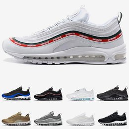 Discount dark brown tennis shoes Men Women Running Shoes Mens Trainers Jesus Triple White Black Reflect Silver Gold Bullet Red Orbit Sunburst cheap Sport