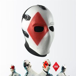 $enCountryForm.capitalKeyWord Australia - Halloween Scary Poker Face Head Latex Mask Party Cosplay Suits Special Mask