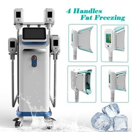Machine System Slimming Vacuum Australia - Cold Technology cryolipolysis machine Cryo Freezing Fat reduction vacuum slimming cryotherapy beauty system freeze fat machines
