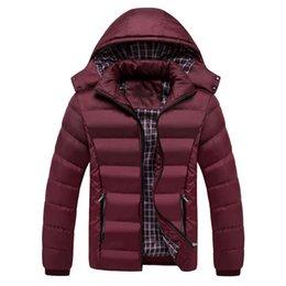 $enCountryForm.capitalKeyWord Australia - Hat Detachable Mens Hooded Jackets Winter Windproof Thick Coats Cotton-Padded Parkas Men's Parka Outwear Warm Wadded Coat 1137
