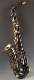 Best Quality Black Alto Saxophone Yas-82Z Япония Бренд Alto Saxophone E-Flat Music Instrument Профессиональный уровень Бесплатная Доставка на Распродаже