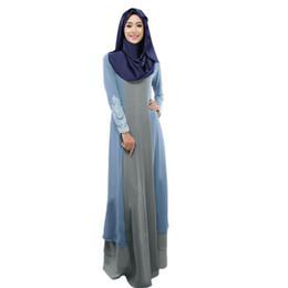 22f512e187c solid robe hijab abaya dubai turquie Vintage Women abaya femme long Maxi  Dress Arab Jilbab Muslim Robe kaftan for women G9+1