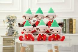 $enCountryForm.capitalKeyWord Australia - 2018 Christmas Santa Elf Plush Toys Best Chrismas Gifts For Children Christmas Party Decorations Toys 25-30cm