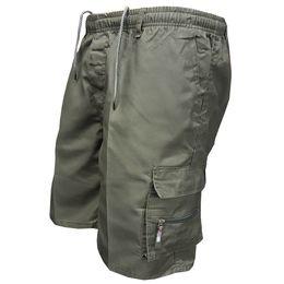 $enCountryForm.capitalKeyWord Australia - Men's Multi Pocket Cargo Shorts Casual Cotton Knee Length Military Shorts Men Loose Army Tactical Shorts Homme Summer Sweatpants MX190718