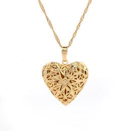 $enCountryForm.capitalKeyWord Australia - Photo Frame Hollow Heart Pendant Necklace Fashion Romantic Jewelry Classic Valentine's Day Gift Top Quality