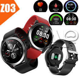 Rate pack online shopping - New Z03 Sport Smart Watch IP68 Waterproof ECG Measurement D Multi sport Fitness Tracker Bracelet for iOS Android with packing