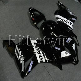 black repsol fairings Australia - Gifts+Screws Injection mold black repsol motorcycle article for HONDA CBR600RR 2009-2012 F5 09 10 11 12 ABS Plastic motor Fairing