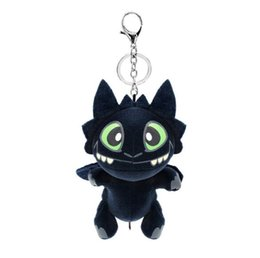 $enCountryForm.capitalKeyWord UK - 17cm (6.7inch) How to Train Your Dragon 3 Plush pendant Toy 2019 New movie Toothless Stuffed Doll Key chain H049