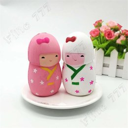 girls toy package NZ - Squishyed Toy Cherry Blossom Girl Doll 11.5cm Slow Rising With Packaging Collection Gift Decor Squishying Toys Gags For Kids
