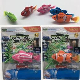 $enCountryForm.capitalKeyWord Australia - Robo Fish Water Activated Battery Powered Robofish kids Clownfish Bath Toys children Robotic Fish Electronic pet no light