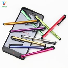$enCountryForm.capitalKeyWord UK - 1000pcs los Universal Capacitive Stylus Touch Pen for iPhone samsung galaxy iPad mini Tablet PC cellphone mobile phone Iphone 6 5 5S