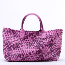 $enCountryForm.capitalKeyWord Australia - Designer-wholesale womens woven cabat handbag FAUX leather bag lady shoulder bag classic brand bag totes hobo bags clutch cosmetic coin bags