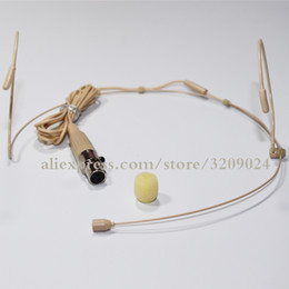 Mini xlr connector online shopping - Mini XLR Pins TA3F PIN Connector HeadWorn Headset Microphone For Wireless BodyPack Transmitter