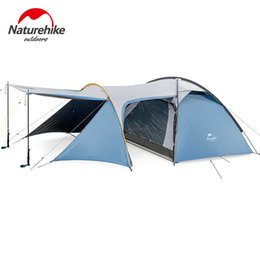 $enCountryForm.capitalKeyWord Australia - Naturehike One-bedroom Family Camping 3 Person Tent Large Space Double Layer Windproof Rain 3 Season Outdoor Tourism Tent