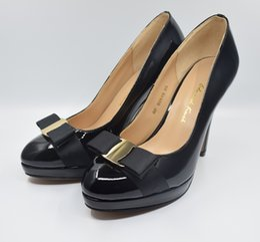 $enCountryForm.capitalKeyWord Australia - Hot Sale-women dress pumps sexy high heels genuine leather brand woman wedding valentine shoes