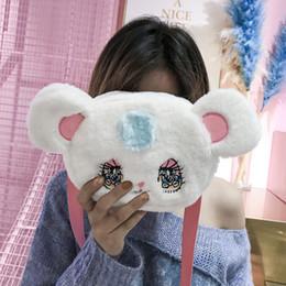 $enCountryForm.capitalKeyWord Canada - 2019 New Fashion Women's Designer Handbag High Quality Soft Plush Ladies Shoulder Bag Cute Girl Cartoon Messenger Bag Chest Bag