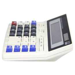 Big Buttons Office Calculator Large Computer Keys Muti-function Computer Battery Calculator High Quality MM87 on Sale