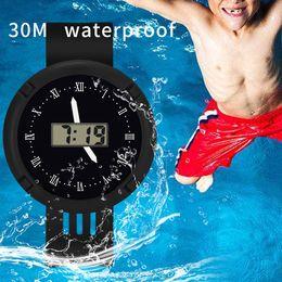 $enCountryForm.capitalKeyWord Australia - Relogios Digitais 2019 Children Girls Analog Digital Sport LED Electronic Waterproof Wrist Watch Quality New Kids Watches LD