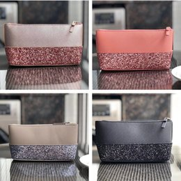Handbag wristlet online shopping - Designer Luxury Handbags Purses Women KS PU Leather Sequins Wallet Wristlet Zipper Purse Outdoor Credit Card Bags Girls Coin Purse C61503