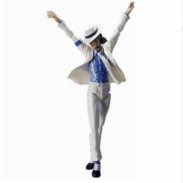 Figuarts Figures NZ - Michael Jackson S.H. Figuarts Smooth Criminal Version Action Figure Toy Brinquedos Figurals MJ fan Collection Model Gift
