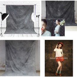 Glare Free Screen Australia - Hand Dyed Muslin Photo Backdrop Old Master Painting Cotton Hand Painted Background Glare-Free Photography Studio Screen