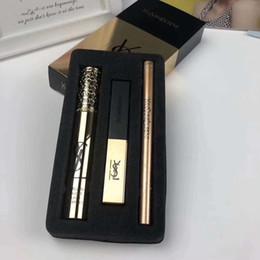 EyElinEr mix online shopping - Makeup Set Mascara Lipstick Eyeliner Waterproof Eyeliner Natural Mascara Long Lasting Lipstick Make Up Tools set RRA1197