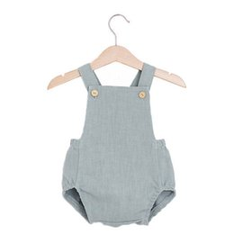$enCountryForm.capitalKeyWord NZ - Newborn Baby Romper Summer Baby Girls Linen Cotton Jumpsuit Cute Infant Cotton Rompers Baby Boys Clothes D1258 Y19050602