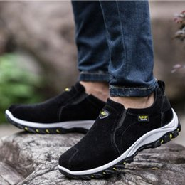 Discount sport shoes direct SONDR men's suede casual shoes lightweight breathable sweat-absorbent couple sports shoes women's factory dire