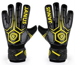 Gloves Football Goalkeepers NZ - Janus finger protection gloves adult series football goalkeeper gloves Luvas de futebol Football Goalie Gloves Goal keeper