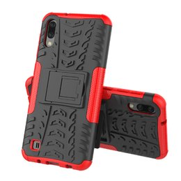 $enCountryForm.capitalKeyWord UK - Hybrid Kickstand Rugged Rubber Armor Hard PC+TPU 2 In 1 Back Case Stand For Samsung Galaxy A30 M10