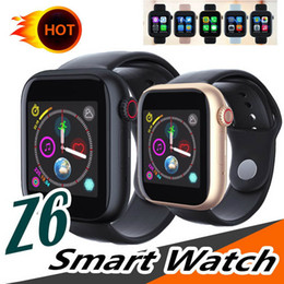 $enCountryForm.capitalKeyWord Australia - Newest Z6 Smartwatch For iOS-Iapple Smart Watch Bluetooth Watches With Camera Supports SIM TF Card For Android Smart Phone PK DZ09 GT08