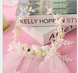 $enCountryForm.capitalKeyWord Australia - Korean flower headdress, headdress, hairband, sweet and smart hairdress, wedding ornaments, wedding dress accessories