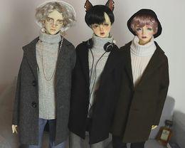 $enCountryForm.capitalKeyWord NZ - D01-P237 children handmade toy 1 3 1 4 uncle Doll Accessories BJD SD doll clothes Classic woolen coat 1pcs