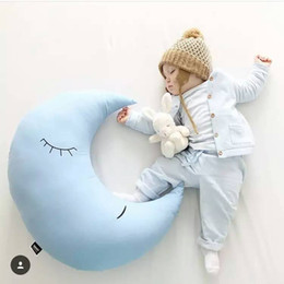Wholesale INS new arrival newborn photography babys moon pillow kids Big back cushion Children room decoration