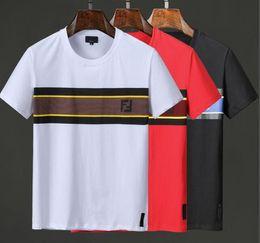 $enCountryForm.capitalKeyWord Australia - 2019 hot Men's fendis T-shirt Designers T-shirt Brands Casual Shirts Embroidered Men Short Sleeve Casual Shirts T-shirt polo black White Red