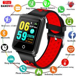 $enCountryForm.capitalKeyWord NZ - BANGWEI Women Fitness Watch Waterproof Sports Watch Heart Rate Fitness Tracker Pedometer Men Smart