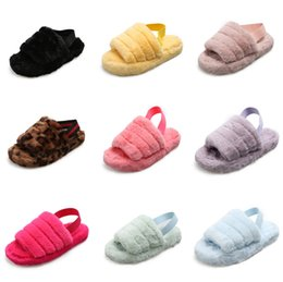 kinder shoes UK - Slippers Fairies 2020 New Summer Soft Bottom Version All Kinds Of Flat Bottomed Pregnant Women Shoes Fish Mouth Shoes Trend #571