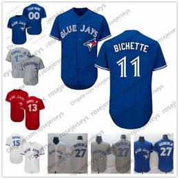 Jays baseball online shopping - Custom Blue Jays Jersey Toronto Bo Bichette Lourdes Gurriel Jr Justin Smoak Randal Grichuk Guerrero Aaron Sanchez