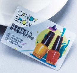 Transparent Cards Australia - Personalized PVC Business Card Design 200pcs 500pcs Matte Face White ink Transparent Plastic Business Card Printing 85.5*54mm
