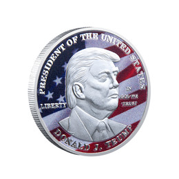 block people Canada - American 45th President Donald Trump Commemorative Coin the United States 2020 President Election Metal Badge Free Shipping