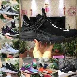 promo code c7bd9 7f078 Adidas human race nmd Shoes Nmd Boost 2019 nuovo pharrell williams human  race nmd uomo donna scarpe sportive nero bianco grigio giallo nmds  primeknit PK ...