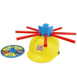 practical joke games Australia - Wet Head Hat Water Game Challenge Wet Jokes And Funny Roulette Game Toy Practical Jokes Prank gift