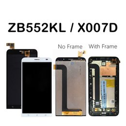 $enCountryForm.capitalKeyWord NZ - For Asus Zenfone GO X007D LCD Display Touch Screen Digitizer ZB552KL LCD For ASUS X007D LCD With Frame Replacement Parts