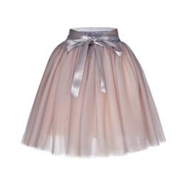 1d13c67efeef 7 Layers 65cm Long Princess Mix Colors Tutu Tulle Skirts Fashion Ball Gown  Lolita Skirt Women Summer Saias Femininas Faldas Jupe J190426