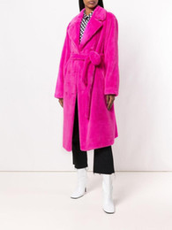 $enCountryForm.capitalKeyWord UK - Long Women Coat Sexy Night Club Celebrity Fashion Party Faux Fur Coat Winter Warm Women Outwear