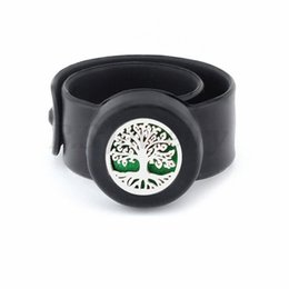$enCountryForm.capitalKeyWord NZ - tree of life3 Kids Adjustable 25mm Mosquito Repellent Bangle Essential Oil Diffuser Bracelet Children Men Women Silicone Bracelets